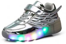 MEURRY, Zapatillas con Ruedas LED para Niños y Niñas [REVIEW]